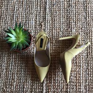 Zara basic collection slingback high heels